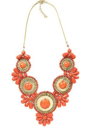 Hot necklace for summer